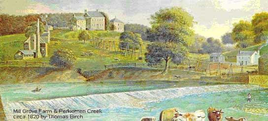 Mill Grove Farm, 1820