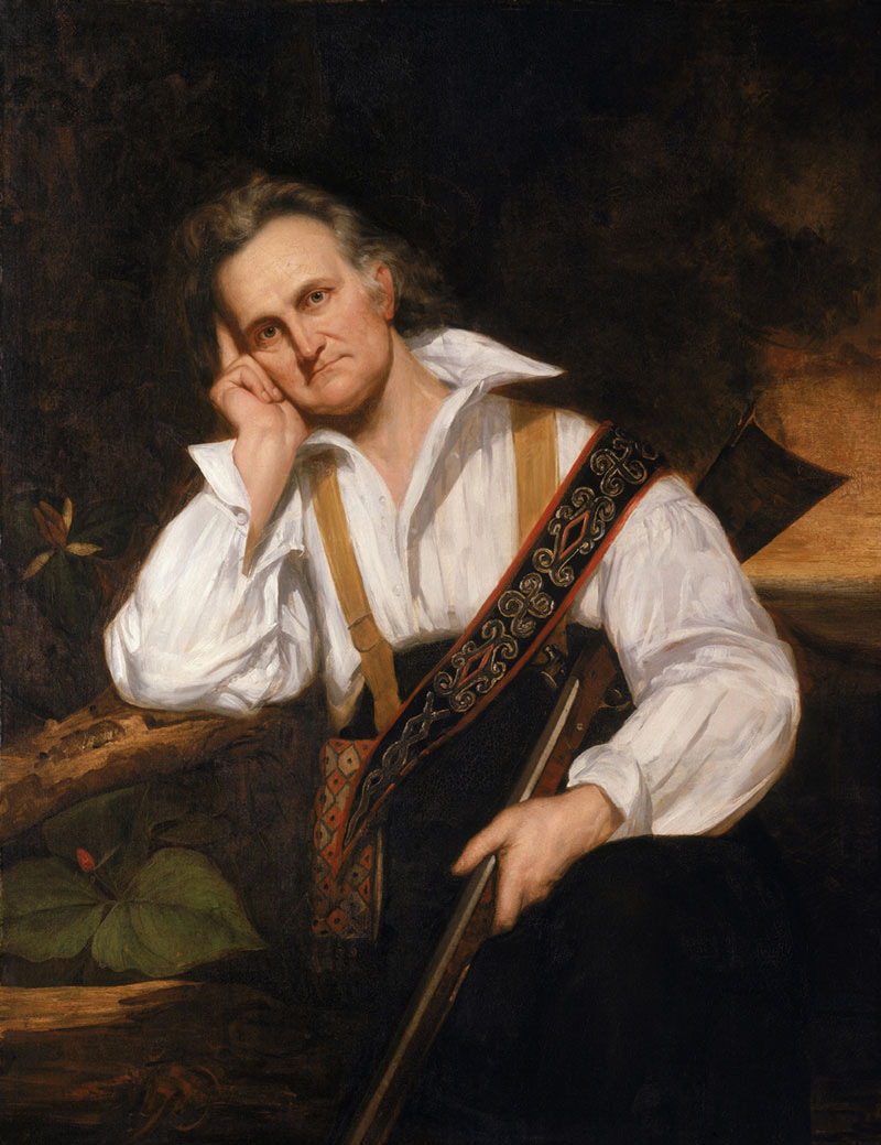 John James Audubon portrait by John Symes